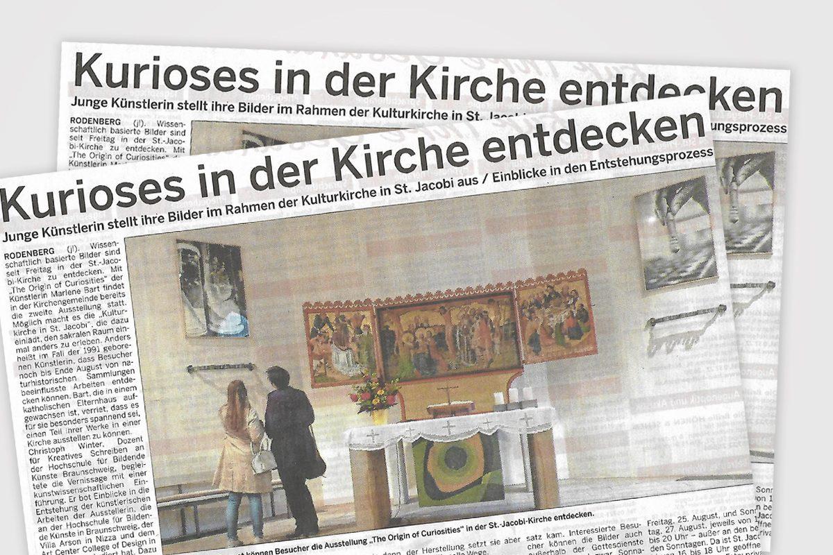 "Ausstellung ""The Origin of Curiosities"""